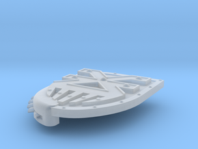 Left-handed Chainshield (Blood God design) in Smooth Fine Detail Plastic: Small