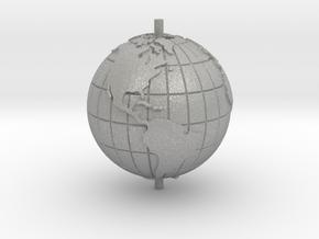 "World 1.25"" (Globe) in Aluminum"