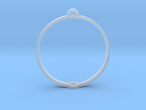 """World 1.25"""" (Ring) in Smooth Fine Detail Plastic"""