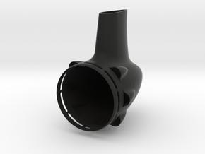 58mm Tailcone in Black Natural Versatile Plastic