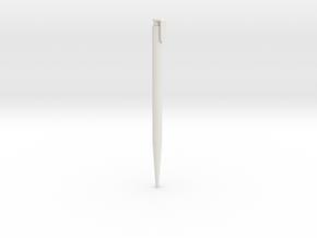Pen in White Natural Versatile Plastic