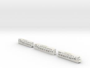 BOB  Bernese Oberland Bahn ABT 1/160 in White Natural Versatile Plastic