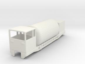 wengernalpbahn  uat 820 guterwagon 1/160 in White Natural Versatile Plastic