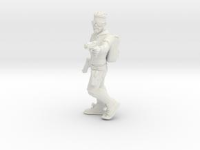 Hero # 3: Gangsta Hipster in White Natural Versatile Plastic