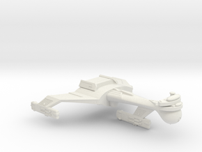 3125 Scale Klingon C5 Light Dreadnought WEM in White Natural Versatile Plastic