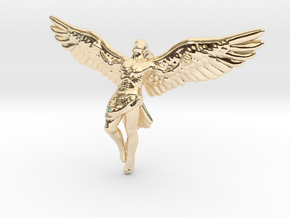 Icarus 5 cm / 2 inch in 14k Gold Plated Brass