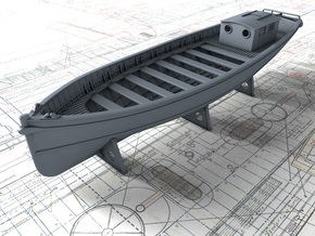1/144 Royal Navy 45ft Motor Launch x1 in Smooth Fine Detail Plastic