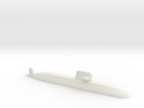 Oyashio-class submarine, 1/1250 in White Natural Versatile Plastic