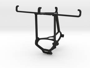 Steam controller & Lava X46 - Over the top in Black Natural Versatile Plastic