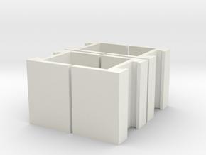 Nintendo Switch Joy-Con TATE Mode Clip in White Natural Versatile Plastic