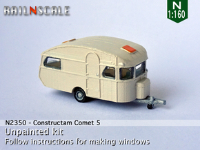 Constructam Comet 5 (N 1:160) in Smooth Fine Detail Plastic