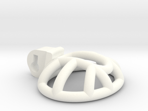 New Fun Cage - Cage - Ultra Short - Signature Tip in White Processed Versatile Plastic