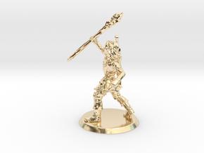 Bloodrut2 in 14k Gold Plated Brass