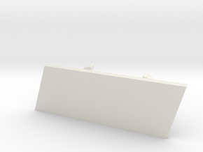 B8/8.5 S4 RS Grill Bracket in White Natural Versatile Plastic