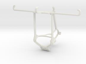 Controller mount for Steam & Motorola Moto Z Force in White Natural Versatile Plastic