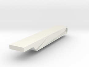 pdi vsr 10 hopup arm one piece in White Natural Versatile Plastic