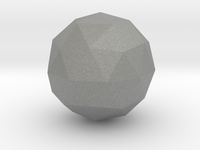Icosphere in Gray Professional Plastic