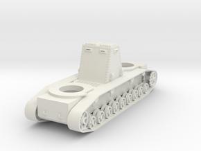 1/100 JN-2 SAB Original Hull in White Natural Versatile Plastic