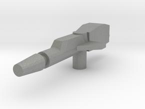 Cloudburst Rifle 3mm handle for Micronus Prime in Gray Professional Plastic