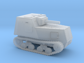 1/200th scale KHTZ-16 soviet armoured tractor in Smooth Fine Detail Plastic