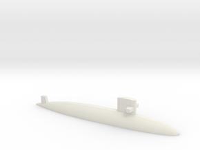 Uzushio-class submarine, 1/1250 in White Natural Versatile Plastic