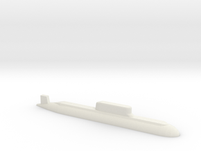 032 submarine, 1/1250 in White Natural Versatile Plastic