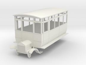 0-64-ford-wsr-railcar-1a in White Natural Versatile Plastic