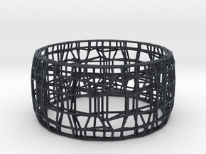 BRACELET WIRE in Black Professional Plastic