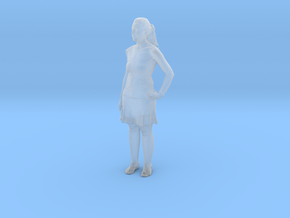 Printle C Femme 299 - 1/48 - wob in Smooth Fine Detail Plastic
