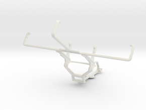 Controller mount for Steam & PS Vita (PCH-1000) -  in White Natural Versatile Plastic