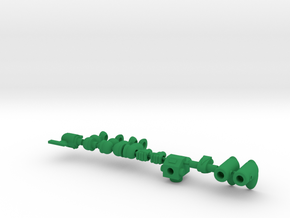 Spartak Sentry Assembly 1 of 2 in Green Processed Versatile Plastic