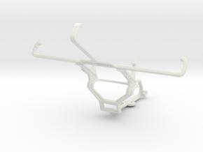 Controller mount for Steam & Motorola Moto X Style in White Natural Versatile Plastic