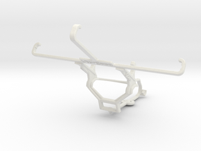 Controller mount for Steam & OnePlus One - Front in White Natural Versatile Plastic