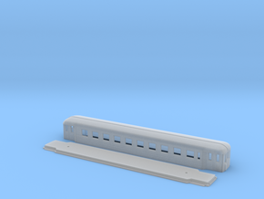 Co6 - Swedish passenger wagon in Smooth Fine Detail Plastic