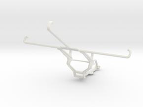 Controller mount for Steam & Asus Google Nexus 7 ( in White Natural Versatile Plastic