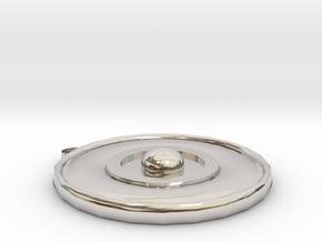 Death Fragment Jewel in Platinum