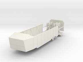1/72 Anhaenger 24 ton schwimmfaehig fuer LWS in White Natural Versatile Plastic