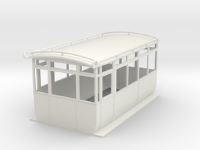 0-43-ford-railcar-1a in White Natural Versatile Plastic