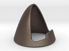 standART_model02 in Polished Bronzed-Silver Steel