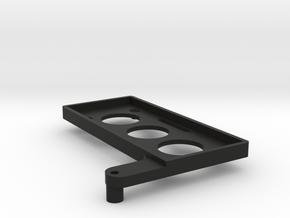 Battery Tray TRX4 86x36 in Black Natural Versatile Plastic