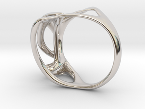 Calliope ring in Rhodium Plated Brass: 3 / 44