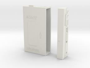Walkman-4-Inch in White Natural Versatile Plastic