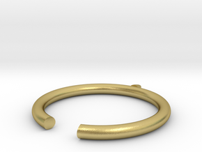Little finger in Natural Brass