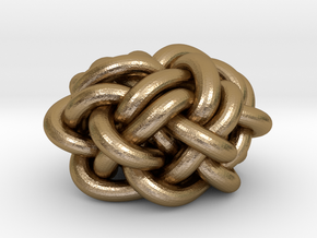 B&G Knot 02 in Polished Gold Steel