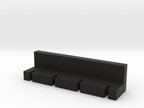 charger separator  in Black Natural Versatile Plastic