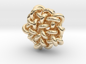 B&G Knot 10 in 14k Gold Plated Brass