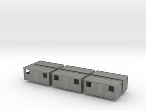 1:160 Wohncontainer residential container 6x in Gray PA12