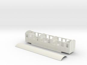 RH&DR Rebuilt Clayton Pullman in 09 in White Natural Versatile Plastic