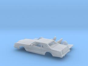1/160 1977-79  Lincoln Mark V Kit in Smooth Fine Detail Plastic
