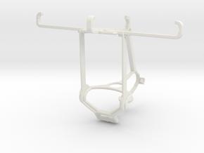 Controller mount for Steam & Xiaomi Redmi 4 (China in White Natural Versatile Plastic